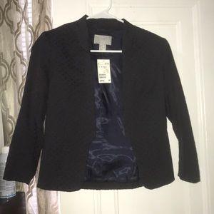 Purple blazer jacket